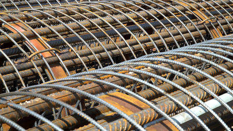 The Metal Frame Of The Reinforcing Bars. 2