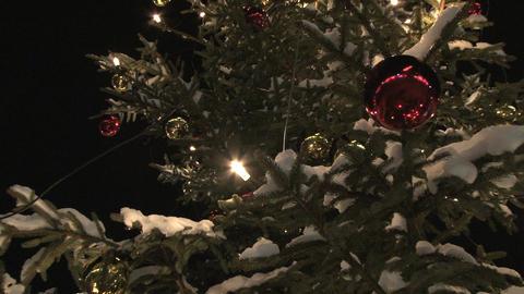 Christmas tree zoom Footage