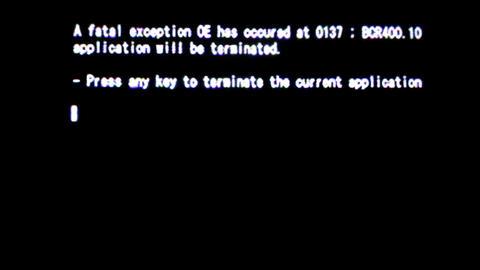 Fatal computer error Live Action