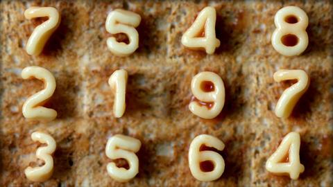 Number toast Footage