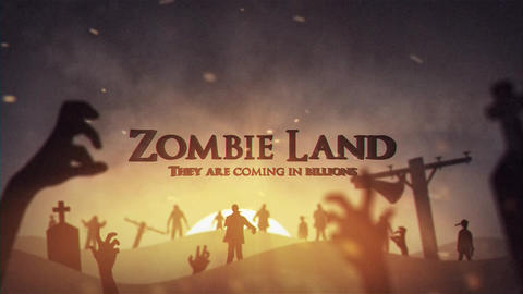 Zombie land After Effects Template