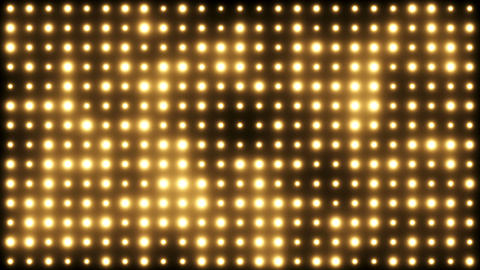 Flashing Wall Of Lights Background Animation
