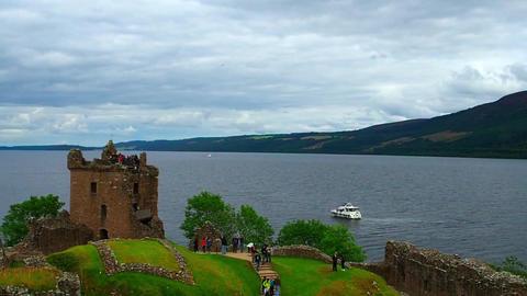 Urquhart Castle Footage