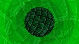 Rotating sphere VJ video animation Animation