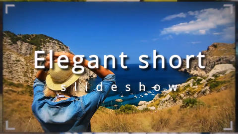 Elegant short slideshow After Effects Template