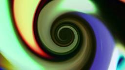 Colored Cartoony Vortex Background Animation