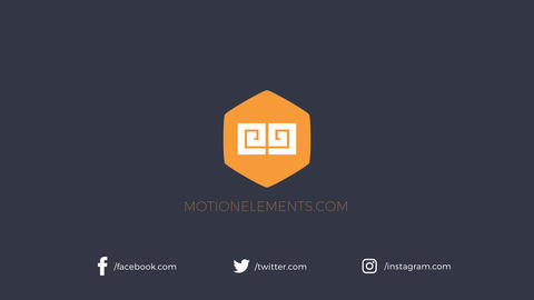 Social Logo Reveal After Effects Template