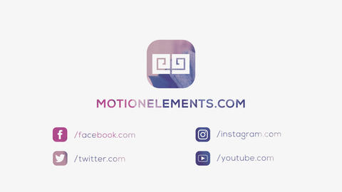 Social Logo Photo Reveal After Effects Template