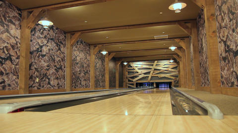 Private bowling alley Live Action