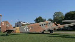 Junkers Ju 52/3m. Amiot AAC.1 Toucan aeroplane Footage