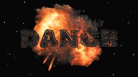 3D Explosive Dance Animation