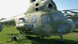 Wsk Mil Mi-2t Wiarus (NATO: Hoplite) helicopter Footage