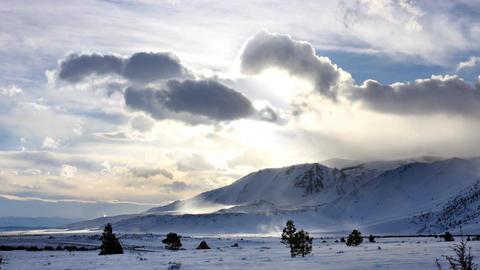 Winter Landscape Time Lapse Archivo