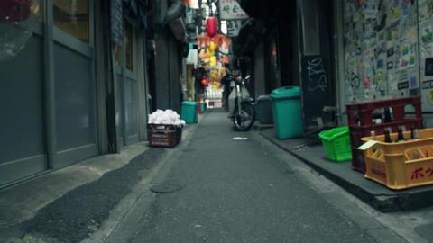 路地裏、新宿、スーパースロー、ハイスピード、東京、渋谷、思い出横丁、飲屋街、赤提灯、上野、浅草、渋谷、歩く、足元、イメージ、観光、師走、年末、クリスマス、動画素 ビデオ