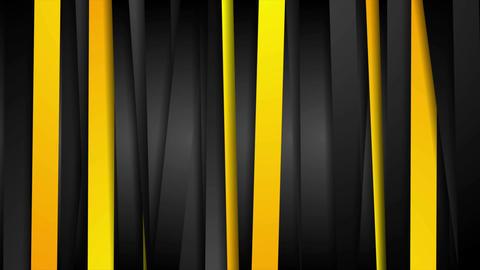 Contrast orange and black stripes video animation Animation