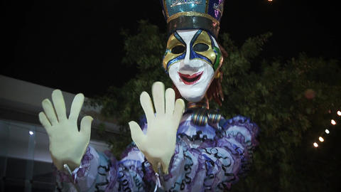 Dolls in Montevideo Carnival Live Action