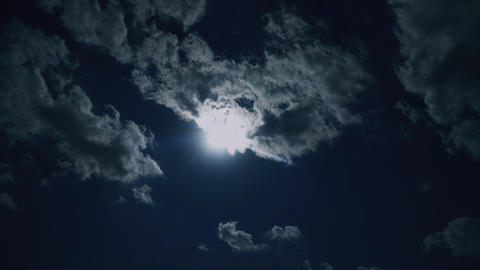 Sky Tokyo Time-lapse 空 雲 太陽 微速度 タイムラプス08 Footage