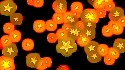 particle rain (star) 02 画像