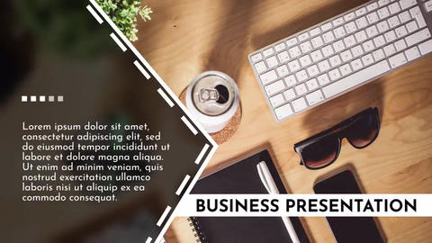Business Presentation - Premiere Premiere Pro Template