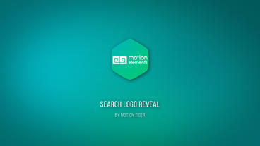 Search Logo Reveal After Effects Templates