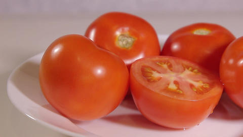 few ripe tomatoes Live Action