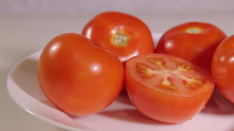 few ripe tomatoes Footage