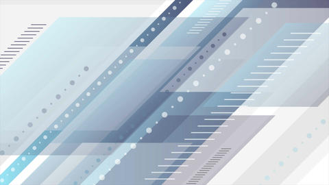 Blue and grey abstract tech minimal video animation Animation