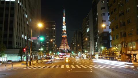 Tokyo Tower light up moment Archivo