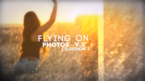 Flying On Photos Slideshow V 2 After Effects Template
