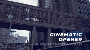 Sport Cinematic Opener Premiere Pro Template