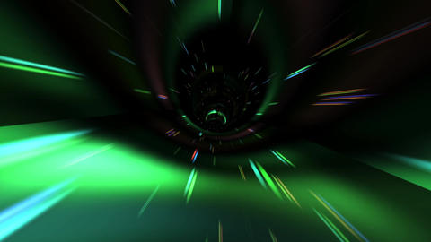 Flying Inside a Beautiful Vortex in Outer Space Image