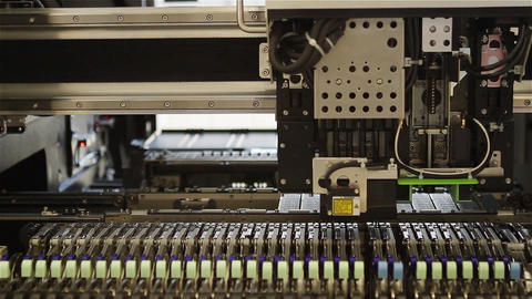Robotic Manufacture of Microchips, Timelapse Filmmaterial
