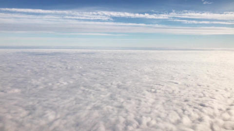 Flying above the clouds Animation