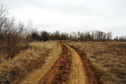 Rural road Foto