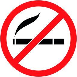 No smoking, cigarette prohibited symbol. Vector Vektorgrafik