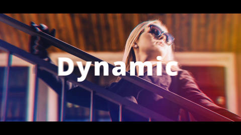 Rhythmic Intro After Effects Template