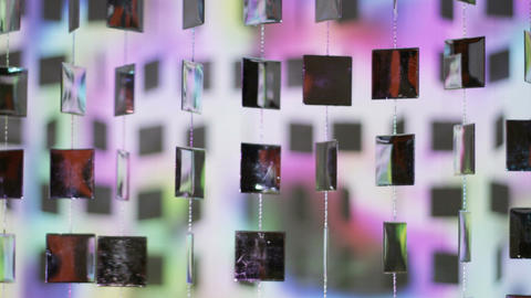 Mirror beads Stock Video Footage
