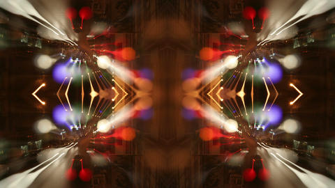 Night blur streaking light Footage