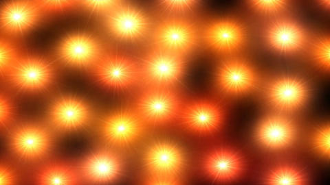 Orange lights pulse on screen loop, Live Action