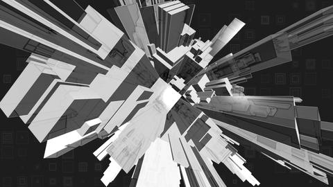 Sharp abstract greyscale Live Action