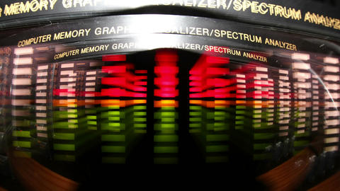 Spectrum analyzer Live Action