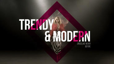 Fashion Promo - Fast, Modern, Stylish and Elegent After Effects Template