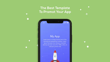 IOS Mobile App Promotion After Effects Template