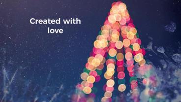 Christmas Ink Slideshow Premiere Proテンプレート