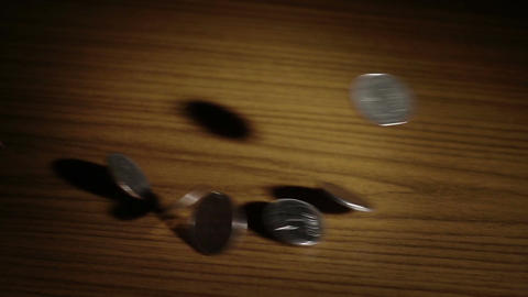 Money fall Footage