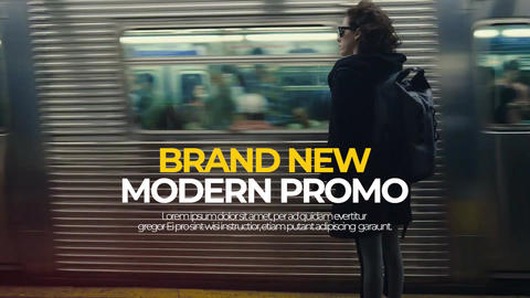 Premier Modern slideshow MA Premiere Pro Template