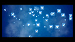 Twitter icon CG動画素材
