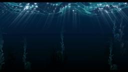 Underwater moving line animation background Animation