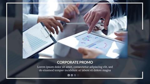 Modern Corporate After Effects Template