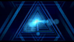 Blue impact VJ animation CG動画素材